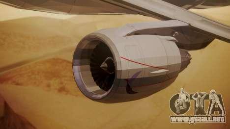 Embraer 170-100 Air Costa para la visión correcta GTA San Andreas