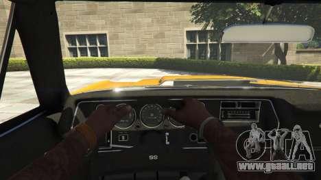 Chevrolet El Camino SS 1970 para GTA 5