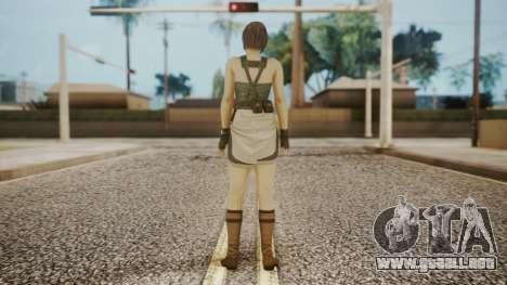 Resident Evil Remake HD - Jill Valentine para GTA San Andreas tercera pantalla