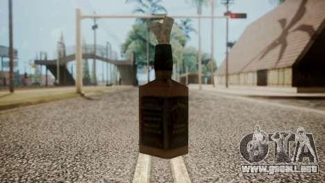 Molotov Cocktail from RE Outbreak Files para GTA San Andreas segunda pantalla
