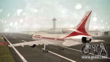 Lockheed L-1011 Air India para GTA San Andreas left
