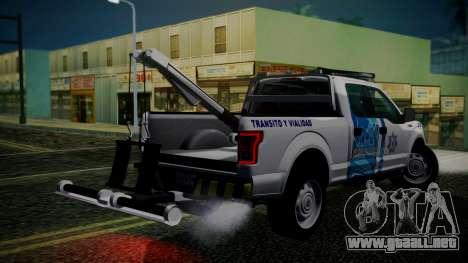Ford F-150 2015 Towtruck para GTA San Andreas left
