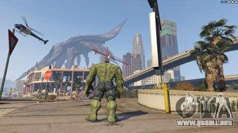 GTA 5 The Hulk tercera captura de pantalla