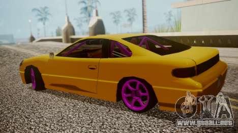 Alpha Drift para GTA San Andreas vista posterior izquierda