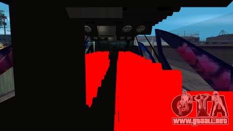 Bus in Thailand para la visión correcta GTA San Andreas