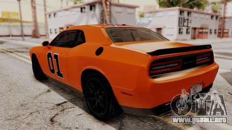 Dodge Challenger SRT Hellcat 2015 IVF PJ para GTA San Andreas