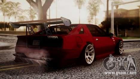 Buffalo R3 (Highly Tuned) para GTA San Andreas left