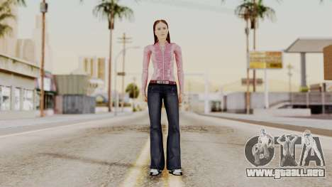 Hfyst CR Style para GTA San Andreas segunda pantalla