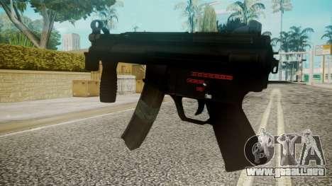 MP5 by EmiKiller para GTA San Andreas segunda pantalla