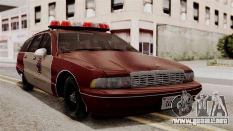 Chevy Caprice Station Wagon 1993-1996 SACFD para GTA San Andreas