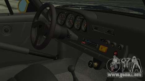 RUF CTR Yellowbird 1987 para la visión correcta GTA San Andreas