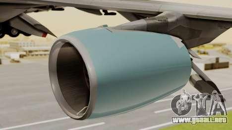 Airbus A380 Air Force One para la visión correcta GTA San Andreas