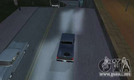 Realistic Lights para GTA San Andreas segunda pantalla