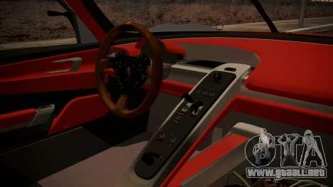 Porsche 918 RSR para la visión correcta GTA San Andreas