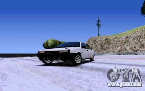 VAZ 2109 Turbo para GTA San Andreas left