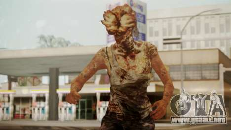 Clicker - The Last Of Us para GTA San Andreas