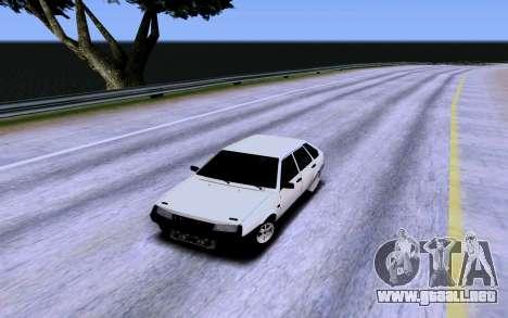 VAZ 2109 Turbo para GTA San Andreas interior