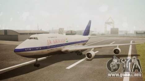 Boeing 747SP ER Airways para GTA San Andreas