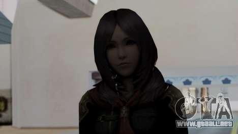 Final Fantasy Type 0 - Rem Tokomiya para GTA San Andreas