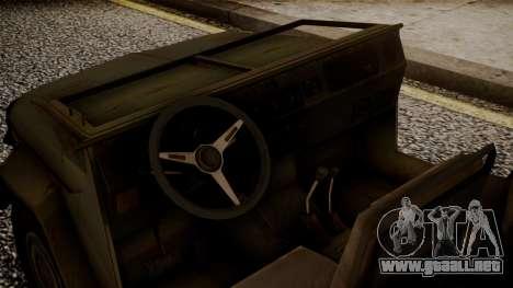 UAZ MGS5 TPP para la visión correcta GTA San Andreas