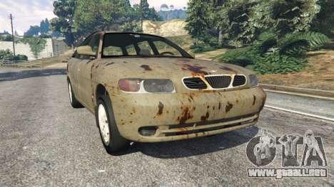 Daewoo Nubira I Wagon CDX US 1999 [Rusty] para GTA 5