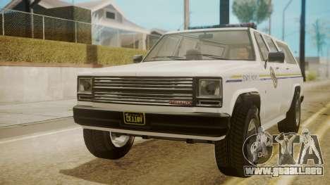 GTA 5 Declasse Rancher XL Police para GTA San Andreas