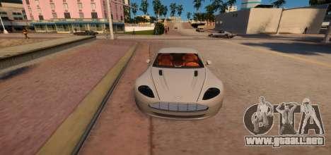 Aston Martin DB9 Vice City Deluxe para GTA 4 vista interior