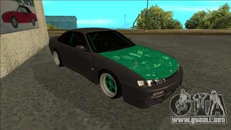Nissan 200sx Drift para GTA San Andreas left