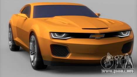 Chevrolet Camaro DOSH Tuning v0.1 Beta para GTA San Andreas vista posterior izquierda