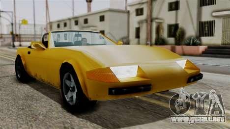 Stinger from Vice City Stories para la visión correcta GTA San Andreas