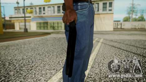 Sawnoff Shotgun (Iron Version) para GTA San Andreas