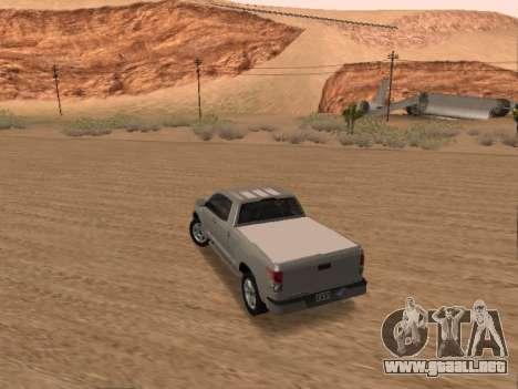 Toyota Tundra para GTA San Andreas left