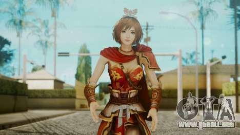 Dynasty Warriors 8 - Sun ShangXian (DLC ROTTK) para GTA San Andreas