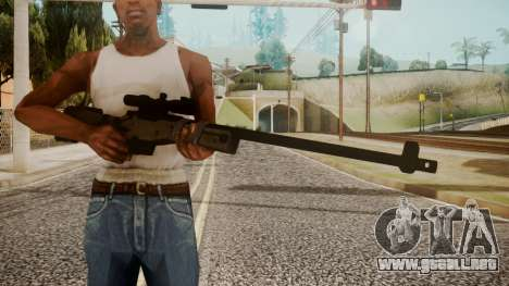 Sniper Rifle by catfromnesbox para GTA San Andreas tercera pantalla