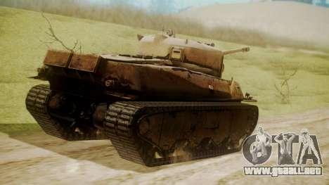 Heavy Tank M6 from WoT para GTA San Andreas left