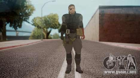 New Venom Snake para GTA San Andreas segunda pantalla