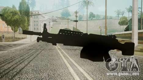 M249 Battlefield 3 para GTA San Andreas segunda pantalla