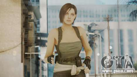 Resident Evil Remake HD - Jill Valentine para GTA San Andreas