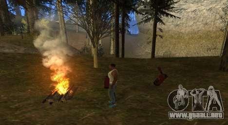 El fuego para GTA San Andreas