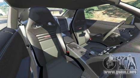 GTA 5 Nissan GT-R (R35) [RocketBunny] volante