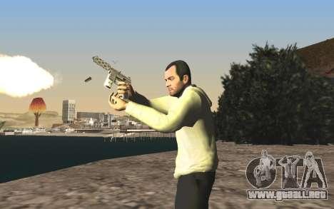 GTA 5 Tec-9 para GTA San Andreas undécima de pantalla