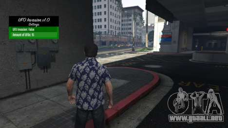 GTA 5 UFO Invasion 1.0.1 tercera captura de pantalla