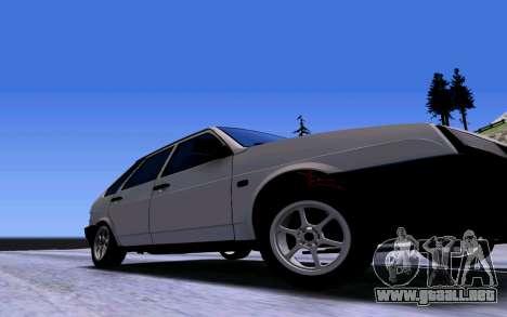 VAZ 2109 Turbo para vista lateral GTA San Andreas