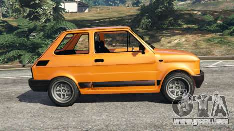 GTA 5 Fiat 126p v1.0 vista lateral izquierda