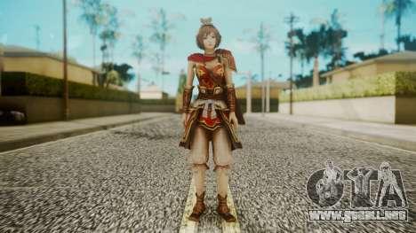 Dynasty Warriors 8 - Sun ShangXian (DLC ROTTK) para GTA San Andreas segunda pantalla