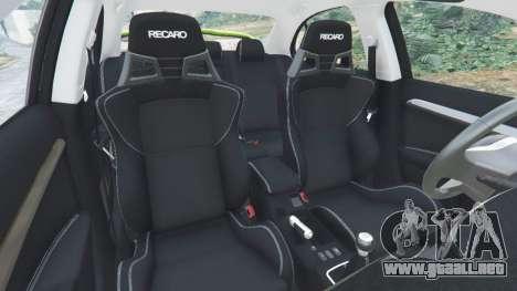 Rueda de GTA 5 Mitsubishi Lancer Evolution X FQ-400