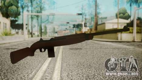 M1 Carbine para GTA San Andreas segunda pantalla