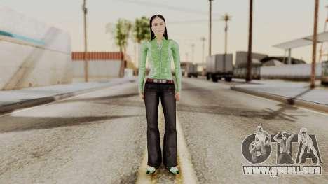 Ofyri CR Style para GTA San Andreas segunda pantalla