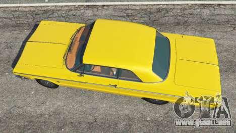GTA 5 Chevrolet Impala SS 1964 vista trasera