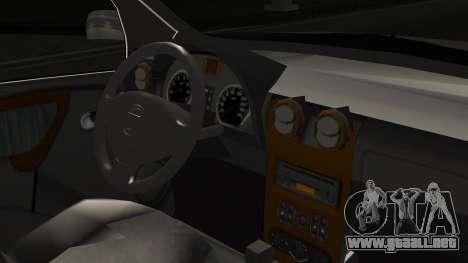 Renault Duster Patrulla Policia Colombiana para la visión correcta GTA San Andreas